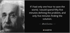 Image result for einstein 60 minutes to save the world