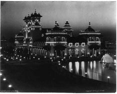Electricity Building - Pan American Exposition, Buffalo, NY, 1901