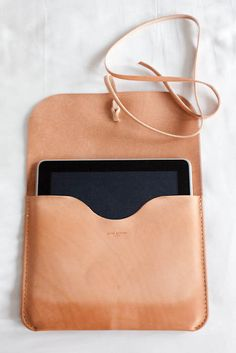 Cool leather case for iPad