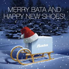 Merry Bata and Happy New Shoes!