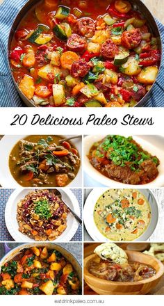 20 Delicious Paleo Stew Recipes | http://eatdrinkpaleo.com.au/20-paleo-stew-recipes/