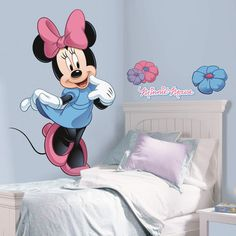 Room Mates Mickey and Friends Minnie Mouse Wall Decal ($23.99 56% off Wayfair.com USA)