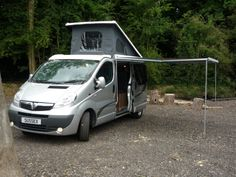 Renault Trafic, Vauxhall Vivaro or Nissan Primastar camper van conversion in the ever popular Paradise layout by Sussex Campervans