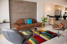 Mokaccino apartment - contemporary - Living Room - Other Metro - Marco Barrios Architecture