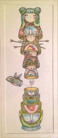 Вчера обнаружила мексиканскую девушку-иллюстратора, которая умеет невероятно уплотнять истории в картинки. Chiara Bautista . У неё есть несколько характерных героев -…