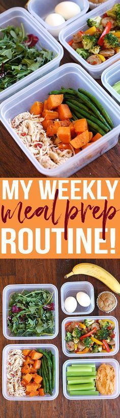 You'll love my Weekly Meal Prep Routine complete with all my favorite go-to healthy recipes and tons of tips to help get you started!