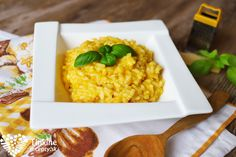 Tekvicové krémové rizoto Couscous, Risotto, Ethnic Recipes, Fit, Bulgur, Shape