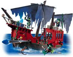Playmobil Pirate Ship for $19.99 on 1SaleADay.  List price shows $79.99.  So cute!