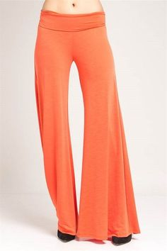 Gorgeous Solid Color Palazzo Pants! Plus Size! #UASpringSummerCollection2015 #Palazzo