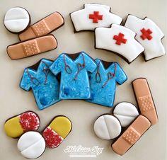 Enfermeras Día cookies