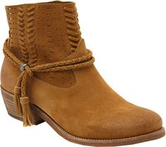 Women's Dolce Vita Kade Bootie - Sepia Suede Boots