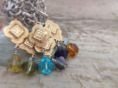 CLEARANCE - Moroccan Wine Glass Charms, Bohemian Wedding, Wedding Decor, Gold Wine Charms, Wine Glass Tags, Beaded Charms, Moroccan Decor, Set of 6 by TesoroDelSol on Etsy https://www.etsy.com/ca/listing/181480512/moroccan-wine-glass-charms-bohemian