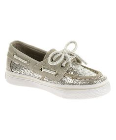 Love this Silver Bahama Jr Boat Shoe by Sperry Top-Sider on #zulily! #zulilyfinds