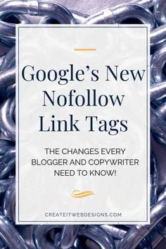 Have you heard about Google's new nofollow link tags - called nofollow 2.0?  In September 2019, Google introduces a new HTML structure for no follow links.  These changes are important as they may start affecting your SEO in the future.  Check out the article to find out what changes you need to start making.  #HTML #seotips #seo #seobasics #webdesign #bloggingtips #copywriting #onpageseo Article Template, Seo Articles, Seo Basics, Seo Tutorial, Website Security, Seo For Beginners, Website Maintenance, On Page Seo, Seo Tips