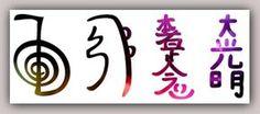 Os símbolos principais do Reiki foram introduzidos pelo mestre Mikao Usui, para serem usados como ferramentas para canalizar e potenciar a energia Reiki.