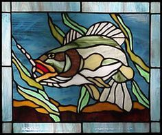 Bass stained glass