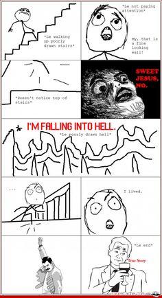 Comic - Stairway of Death