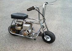 Inspiring thoughts that we have a weakness for! Mini Motorbike, Mini Bike, Motorcycle Bike, Vintage Honda Motorcycles, Small Motorcycles, Moto Quad, Minis, Diy Go Kart, Drift Trike