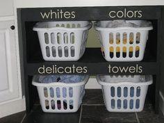"""""""Laundry organization"""" #laundry Laundry Room Decor and Organizing Tips"""