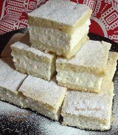 Pillekönnyű túrós pite **Katt a képre, ha érdekel a receptje is** Dairy, Cheese, Cooking, Food, Kuchen, Kitchen, Essen, Meals, Yemek