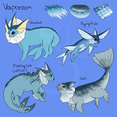cheeziesart:Eeveelution variations!PLEASE DO NOT REPOST OR REDISTRIBUTE ON OTHER WEBSITESThroughout the years I've seen so many headcanons for the eeveelutions, many of which based the Eevees off of just one animal or a mix of them so I decided to play around with some designs to encompass most of these ideas.The main idea being that: Because Eevee's DNA is so wacky and it can evolve into so many diverse evolutions, its species can also vary from evolution to evolution, region to region,