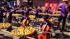 花壇國小弦樂團秋遊之第二站新竹味衛佳柿餅觀光農場表演(演奏布榖)