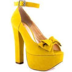 Van Essa - Yellow Suede Luichiny