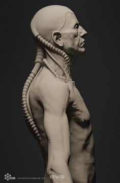 EVE - Amarr Statue, Andrei Cristea on ArtStation at https://www.artstation.com/artwork/eve-amarr-statue