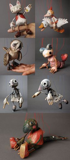 Sota Sakuma is a Japanese puppet maker who lives in Prague. He studied textile at the Tokyo Art and Design University and puppet de...