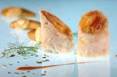 Een overheerlijke saltimbocca van kabeljauw, gandaham en tomatensaus, die maak je met dit recept. Smakelijk!