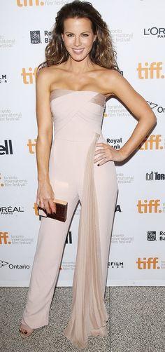 740dd16d8a52 Kate Beckinsale in Azzaro Jumpsuit Toronto Film Festival Kate Beckinsale