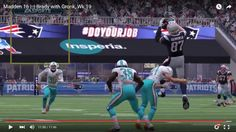 Madden 16 |::| Brady with Gronk, Wk 19 Gronk Catch!!