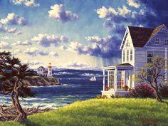 "levkonoe: Randy Van Beek ""Admiralty Lighthouse"""