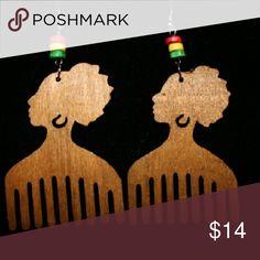 Jewelry Lighter brown wooden earrings Jewelry Earrings