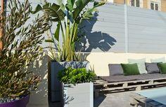 Toit terrasse à Marseille par Slowgarden.fr