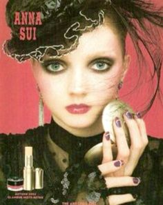 #LilyCole for #AnnaSui love this shot #fashionadvert
