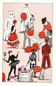 Hello, Halloween-loving kids-at-heart! It's nostalgia time! From a past eBay auction comes this image of a page from a 1963 issue of Jack...