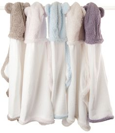 hooded towels- these look so cozy!