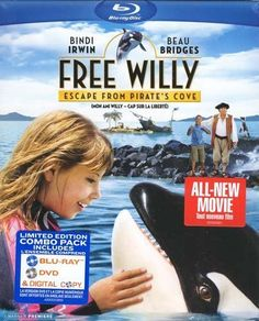 Free Willy: Escape from Pirate's Cove (Combo Blu-ray + DVD)