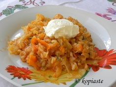 Vegan Greek recipe with Cabbage and Rice (Lahanoryzo)  Λαχανόρυζο με Καρότα / Lahanoryzo me karota (cabbage rice pilaf with carrots)  http://gourmetconcoctions.wordpress.com/2013/02/25/lahanoryzo-me-karoto-cabbage-rice-pilaf-with-carrots-λαχανόρυζο-με-καρότο/
