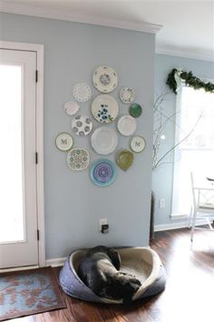 A Modern Plate Wall - Updated and Youthful | * View Along the Way *