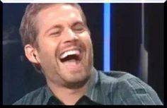 Paul Walker laughing