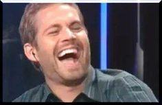 Paul Walker laughing