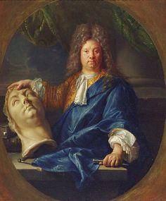 François Jouvenet, Portrait de Antoine Coysevox (1701) - Antoine Coysevox - Wikipedia, la enciclopedia libre