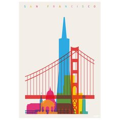 eu.Fab.com   San Francisco Print 56x80