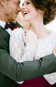 Wedding Photo: Magical Winter Shoot | Photography by Ciara Richardson on Bridal Musings via Lover.ly