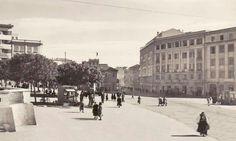 Cagliari- Piazza Garibaldi anni '40