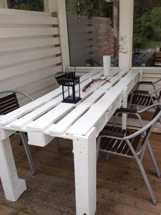 Elegant Table En Palette : 44+ Idées à Découvrir (PHOTOS)