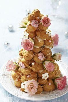 Windbeutel-Torte alternativ zur herkömmlichen Hochzeitstorte