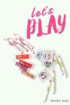 ¡¡Descubre la línea de maquillaje MARY KAY AT PLAY!! ¿¿Quieres probarlos? ? Solo a través de tu CONSULTORA  ¡¡Conocer los productos de Mary kay  es gratuito!! No lo dudes y ponte en contacto conmigo http://www.marykay.es/mariasanandres